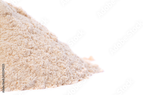Close up of Raw Organic Lucuma Powder