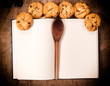 Cookbook and cookies