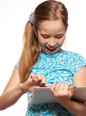 Child with a Tablet PC