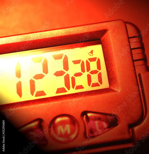 Leinwanddruck Bild Time