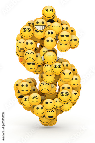 Emoticons  dollar sign