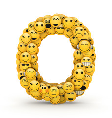 Emoticons letter O