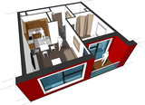 Apartment diagram
