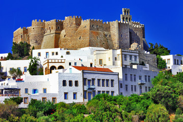 Unesco heritage site - Patmos island, Greece