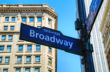 Papier Peint - Broadway sign