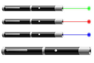 Laser pointer vector