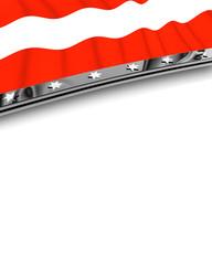 Designelement Flagge Österreich