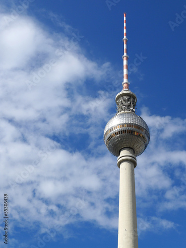 Berlin Tv Tower Berliner Fernsehturm Germany