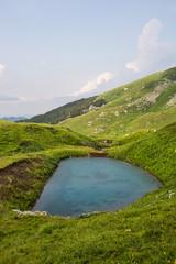 Little mountain lake