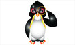 Animal. Penguin With Monocle