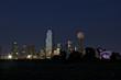 Dallas down town night skyline