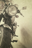 vintage background Motorcycle - 55310010