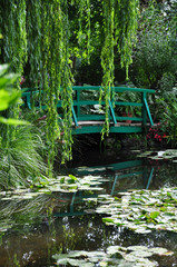 Garten von Claude Monet in Giverny, Frankreich