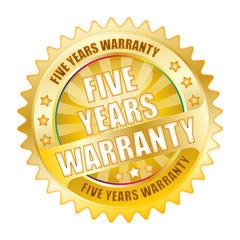 Bügel Button Kranz Gold 5 years Warranty