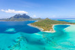 french polynesia from helicopter - 55311643