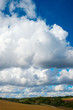 Cloudy landscape.