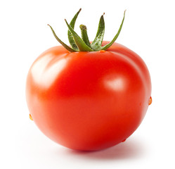 Tomato with green handle