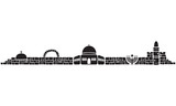 Jerusalem Skyline Icons