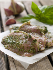 marinated meat