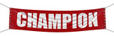 Champion Banner (clipping path included)