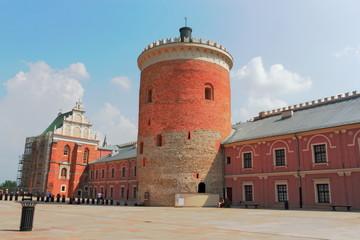 Lublin Schlossplatz