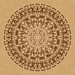 Vector illustration of oriental decoration
