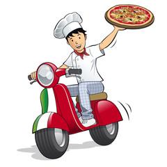 Livreur de pizza - Livraison - Pizzeria