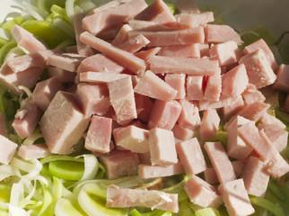 Leeks & Ham