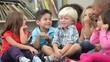 Group Of Elementary Age Schoolchildren