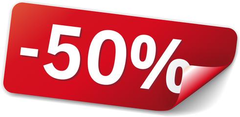 sticker rot -50%