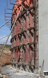 construction concrete wall