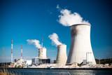 Obraz na płótnie Atomkraftwerk