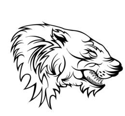 wolf/panther/bestie