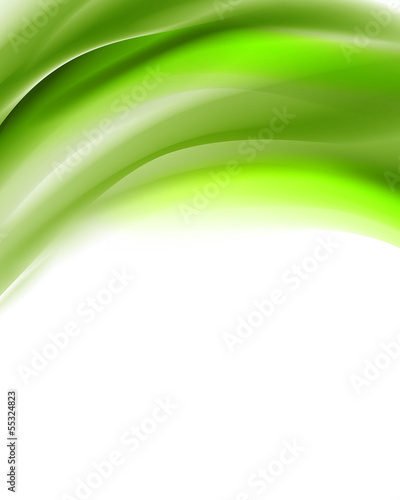 Vector Illustration of an Abstract Wave Background