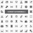 Website Iconset - Automobile II 44 Basic Icons