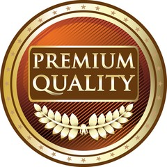 Premium Award In Gold