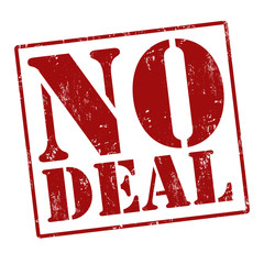 No deal stamp