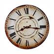 Leinwanddruck Bild - old clock