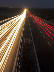 Autostrada notturna