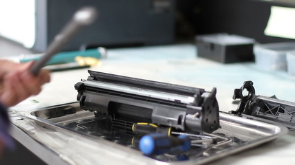 toner cartridge assembly
