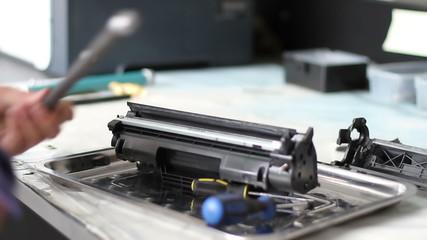 toner cartridge assembly