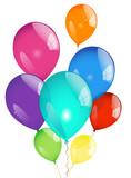 Fototapety Ballons envol