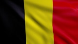 Flag of Belgium looping