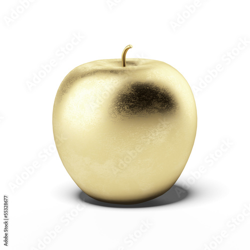 Gold apple