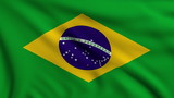 Flag of Brazil looping
