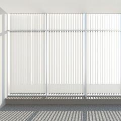 window vertical fabric blinds
