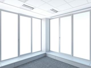 corner and windows