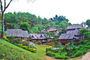 Tourist resort in the north of Thailand