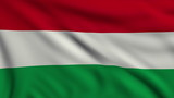 Flag of Hungary looping