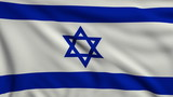 Flag of Israel looping